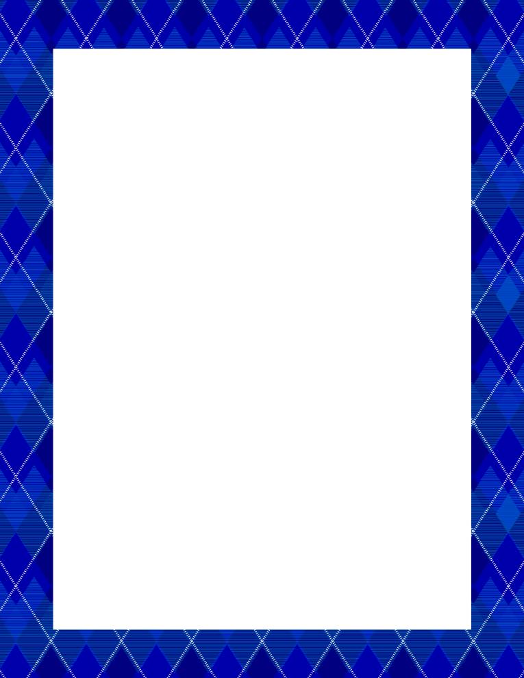 argyle blue frame border free borders and clip artcom