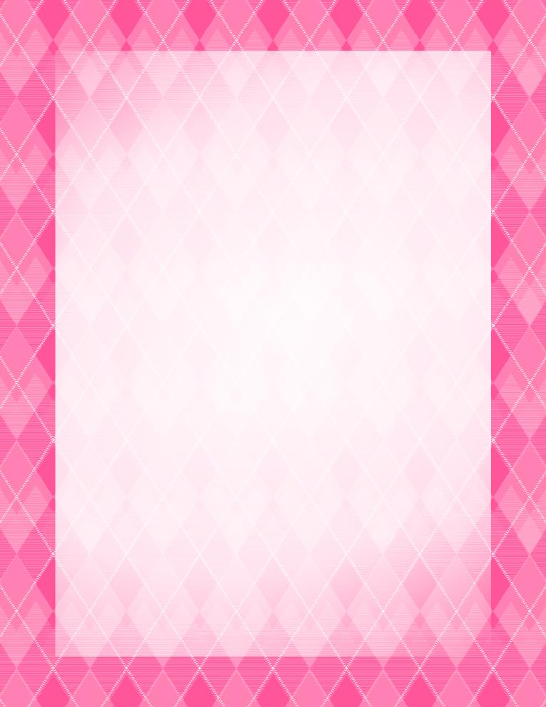 Argyle Pink Border | Free Borders And Clip Art.com