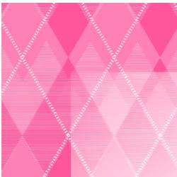 Pink Argyle Border