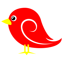 red bird clip art free borders and clip art rh freebordersandclipart com red bird clip art images red bird clipart black and white