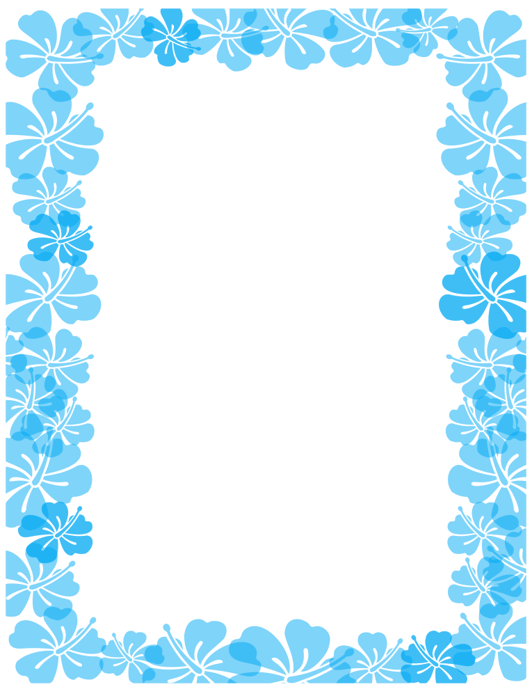 Blue Border Design