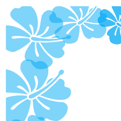 Free Borders And Clip Art Downloadable Free Hibiscus Flower Borders