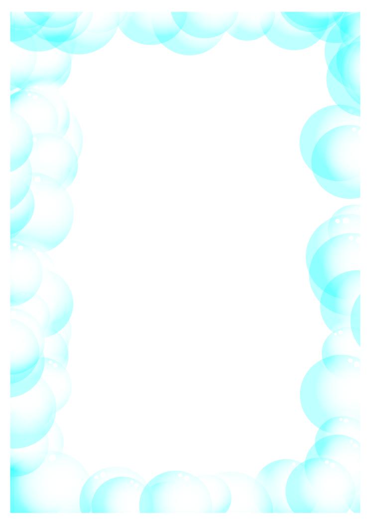 Bubbles Border